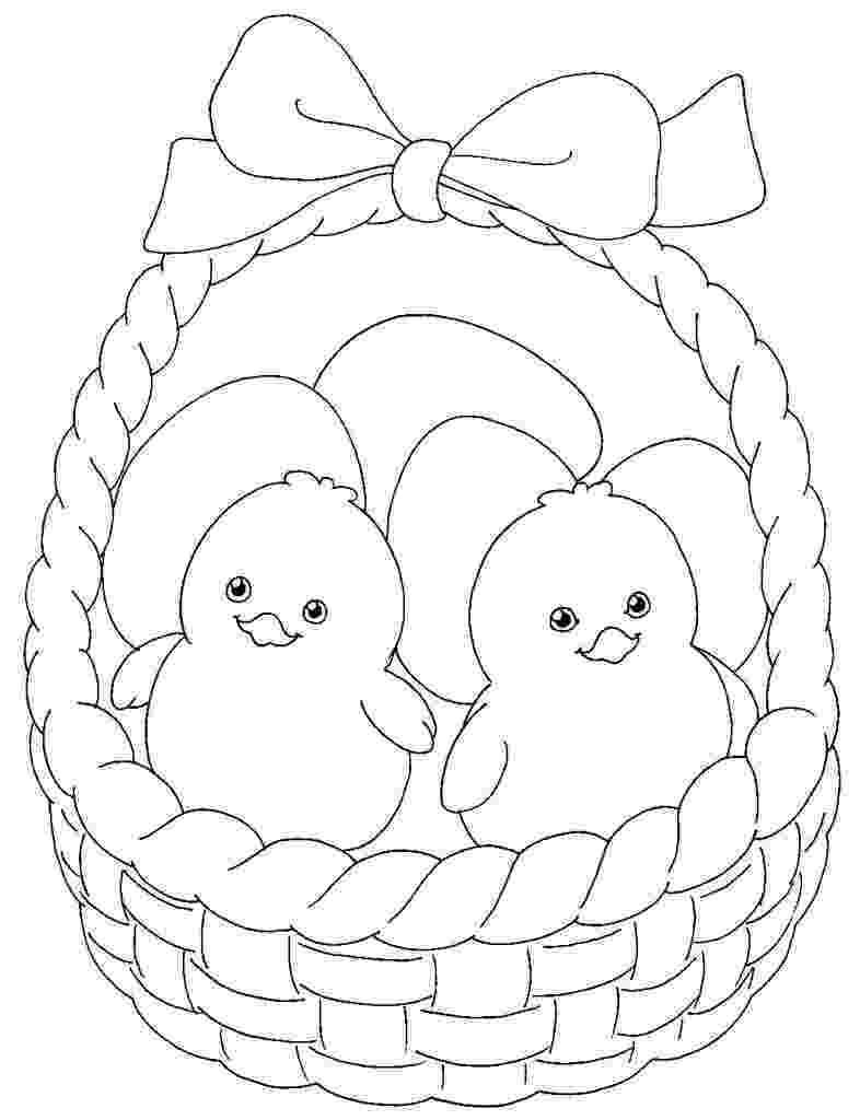 easter basket coloring pages to print easter basket coloring pages getcoloringpagescom print easter pages basket to coloring