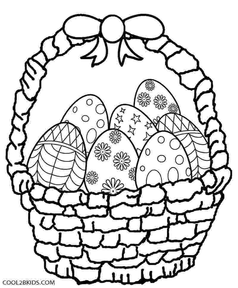 easter basket coloring pages to print easter basket pattern nuttin39 but preschool pages basket to easter coloring print