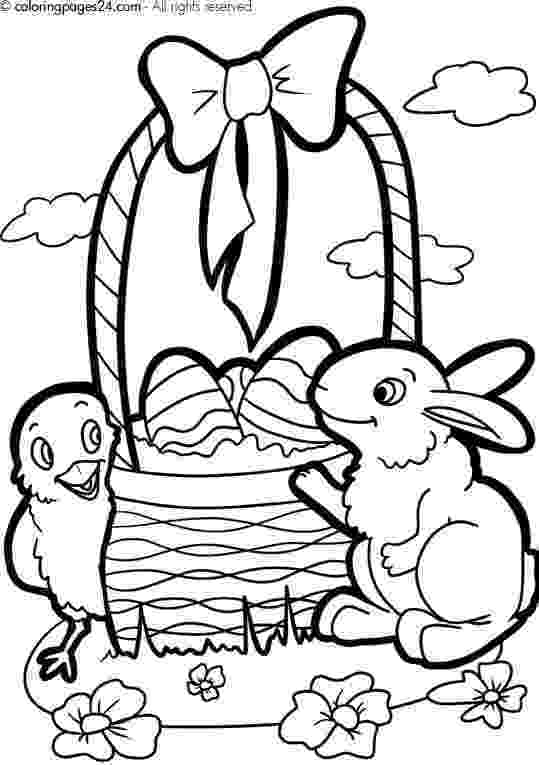 easter basket coloring pages to print easy coloring pages for your child just search coloring easter coloring pages basket to print