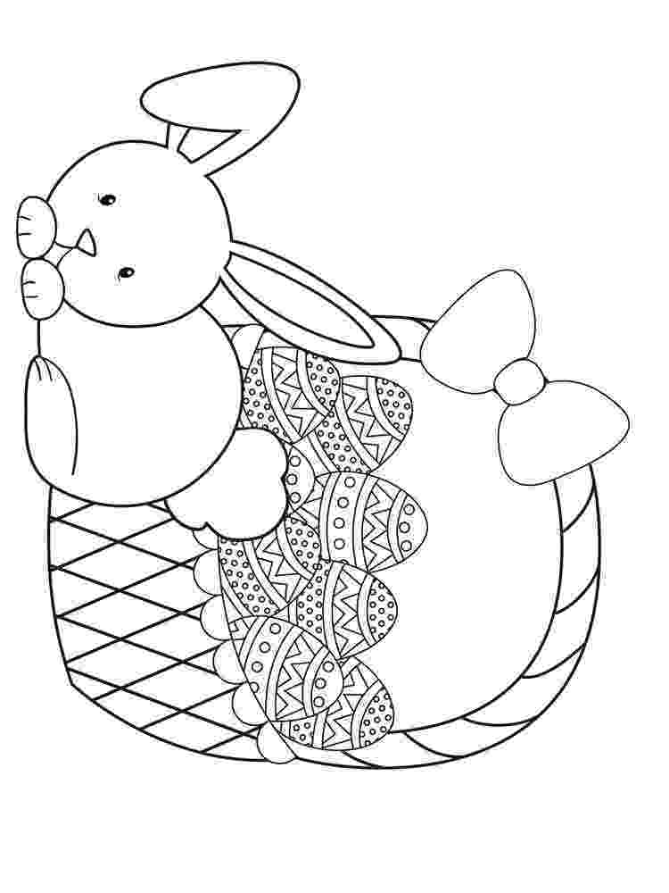 easter basket coloring pages to print fun printable easter coloring pages to easter pages coloring print basket