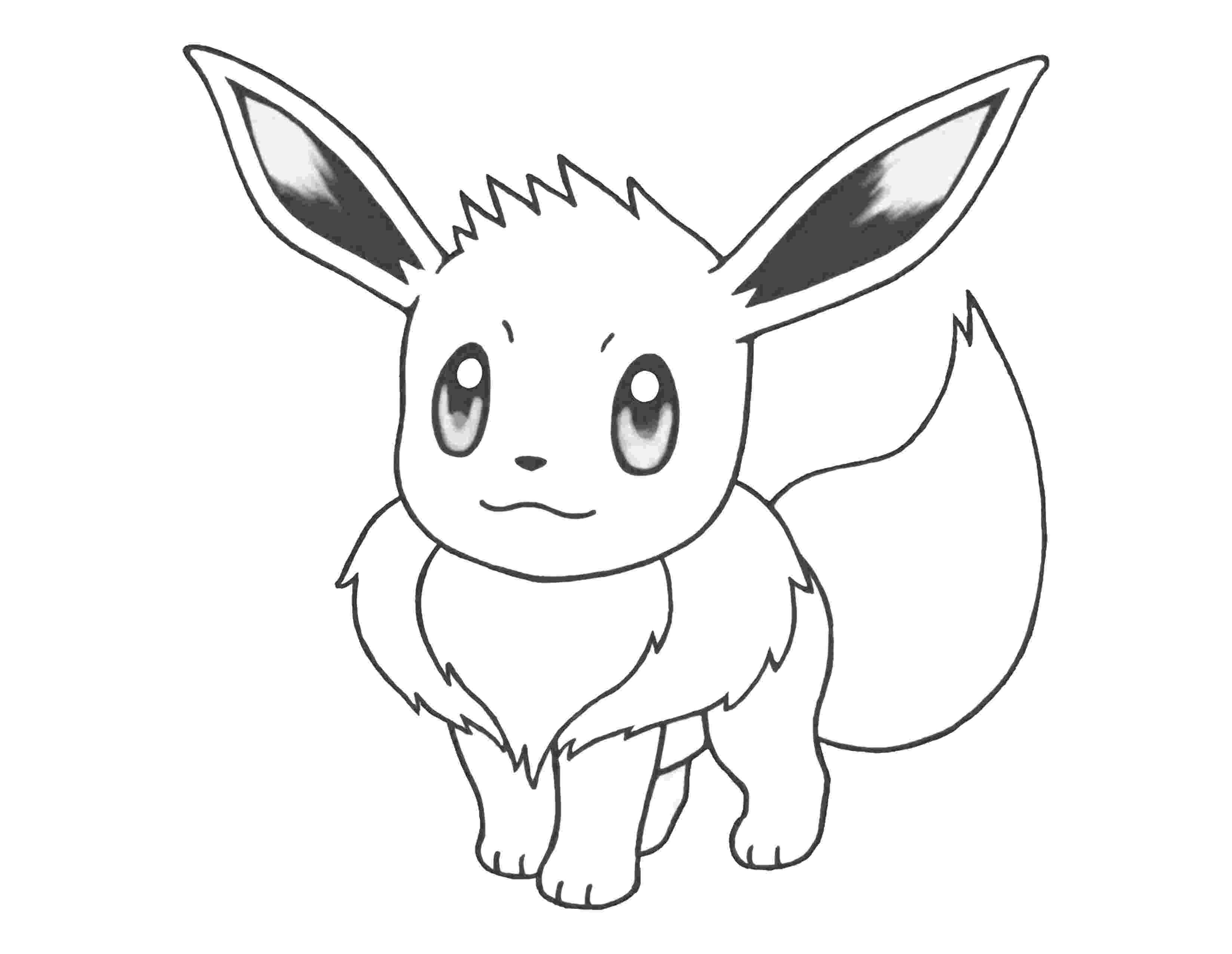 eevee coloring pages eevee coloring page for kids pages coloring eevee