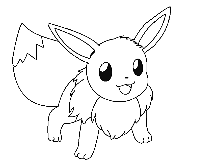 eevee coloring pages pokemon coloring pages eevee evolutions coloring home pages eevee coloring