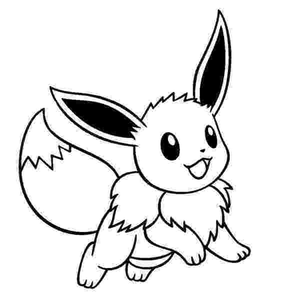 eevee coloring pages pokemon eevee silhouette google search pokemon coloring eevee pages