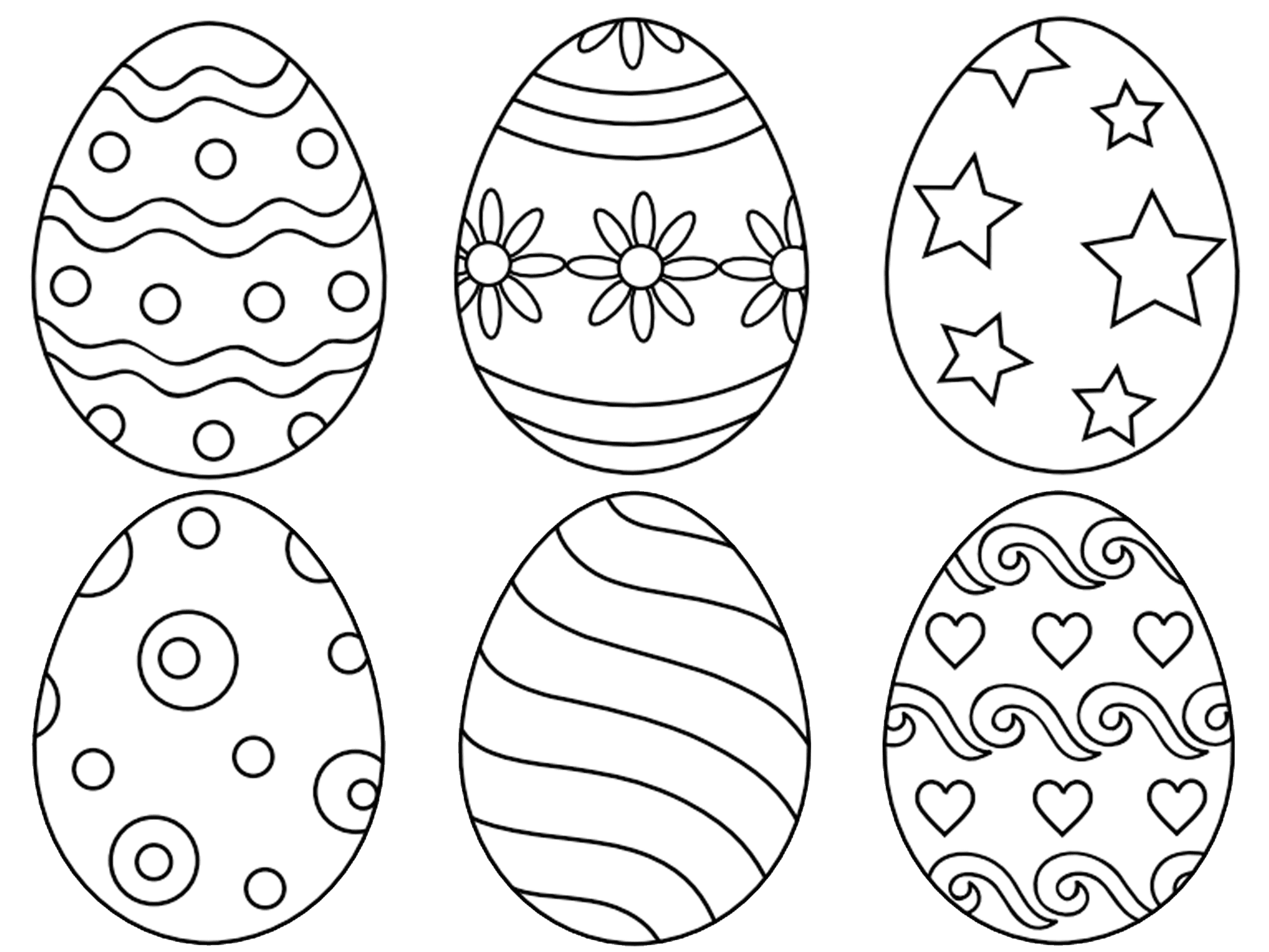 egg coloring sheet printable easter egg coloring pages for kids cool2bkids egg coloring sheet