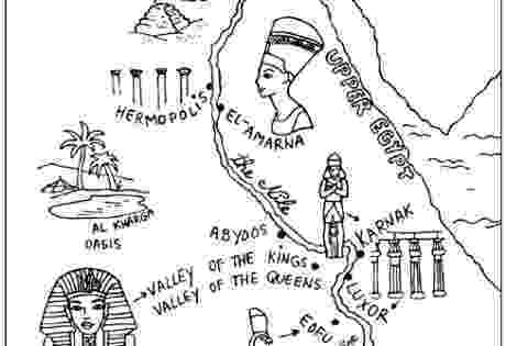 egypt coloring map pin on bible class map coloring egypt