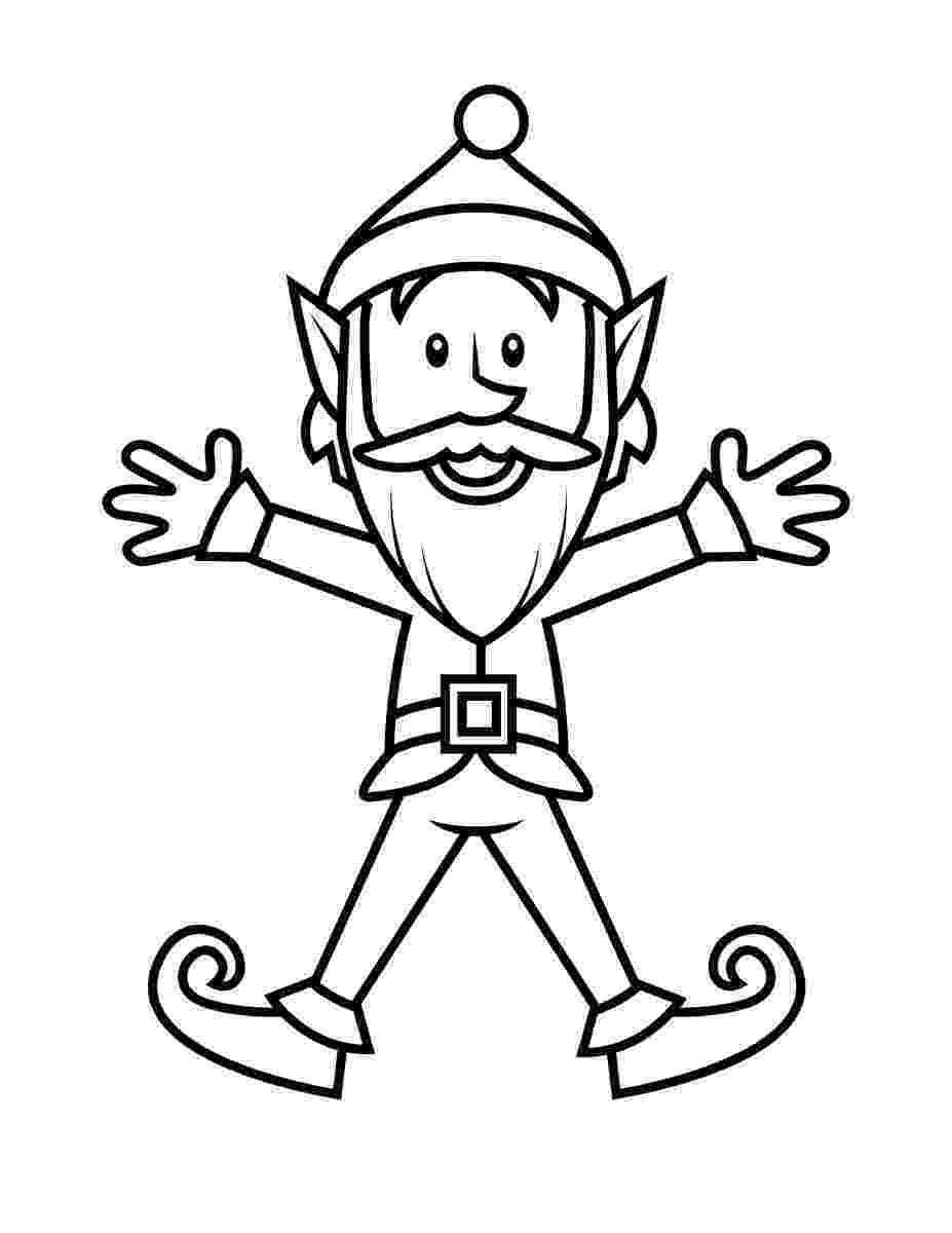 elf coloring sheets free printable elf coloring pages for kids cool2bkids sheets coloring elf