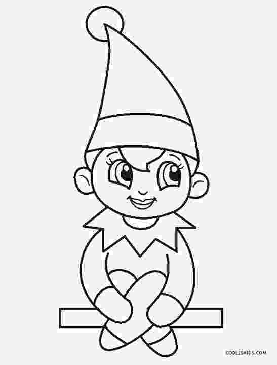 elf coloring sheets free printable elf coloring pages for kids cool2bkids sheets elf coloring
