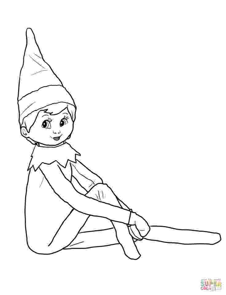 elf on shelf coloring pages elf on the shelf coloring page printable christmas coloring pages shelf on elf