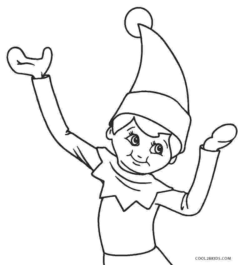 elf on shelf coloring pages free printable elf coloring pages for kids cool2bkids pages elf coloring shelf on