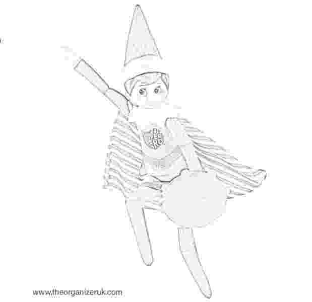 elf on shelf coloring pages free printable elf coloring pages for kids cool2bkids pages shelf on elf coloring