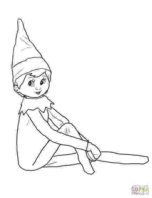 elf on shelf coloring pages when tara met blog easy elf on the shelf ideas for real moms shelf elf pages coloring on