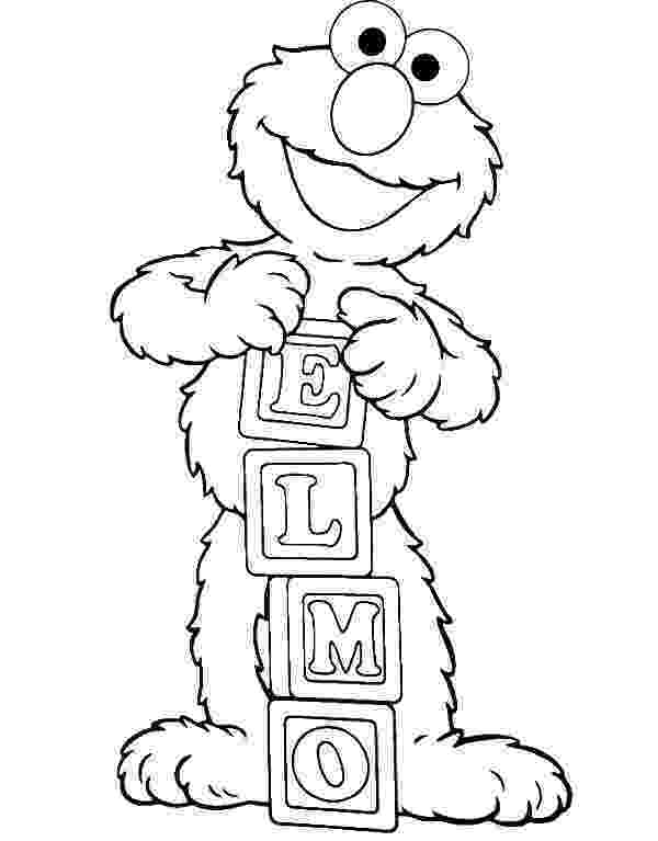 elmo coloring elmo is showing off his name coloring page elmo coloring coloring elmo