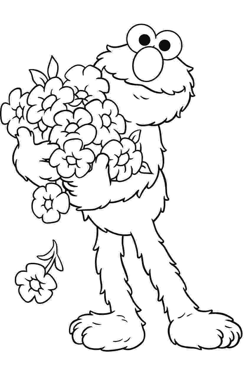 elmo coloring free printable elmo coloring pages for kids coloring elmo