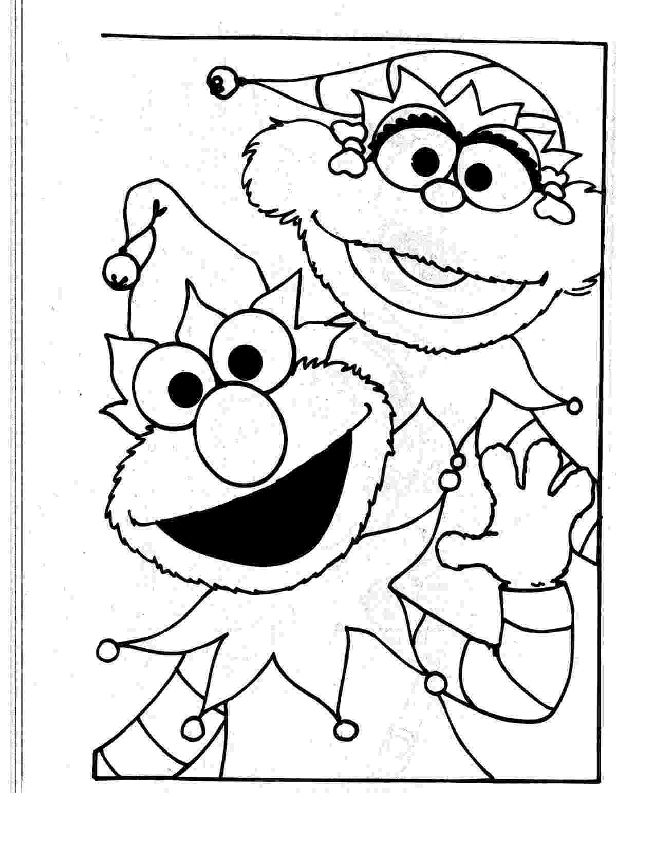 elmo coloring free printable elmo coloring pages for kids elmo coloring 1 1
