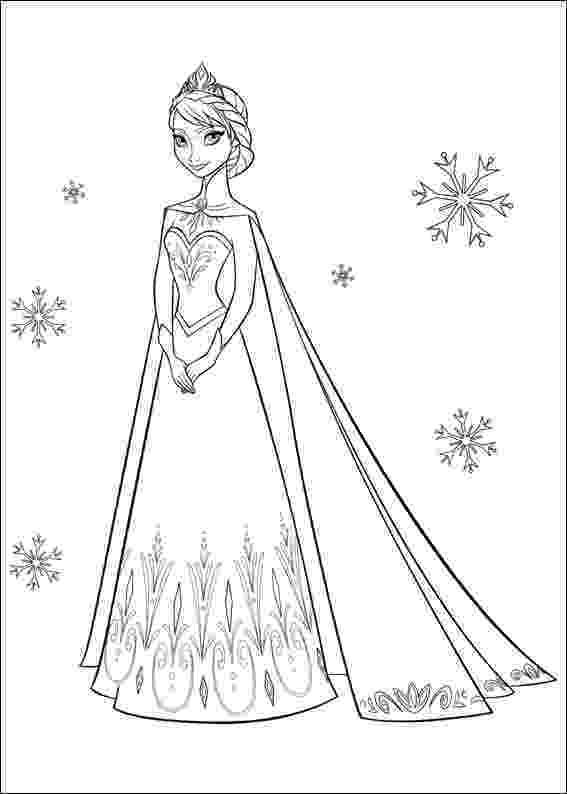 elsa frozen colouring page frozen coloring pages getcoloringpagescom colouring elsa page frozen