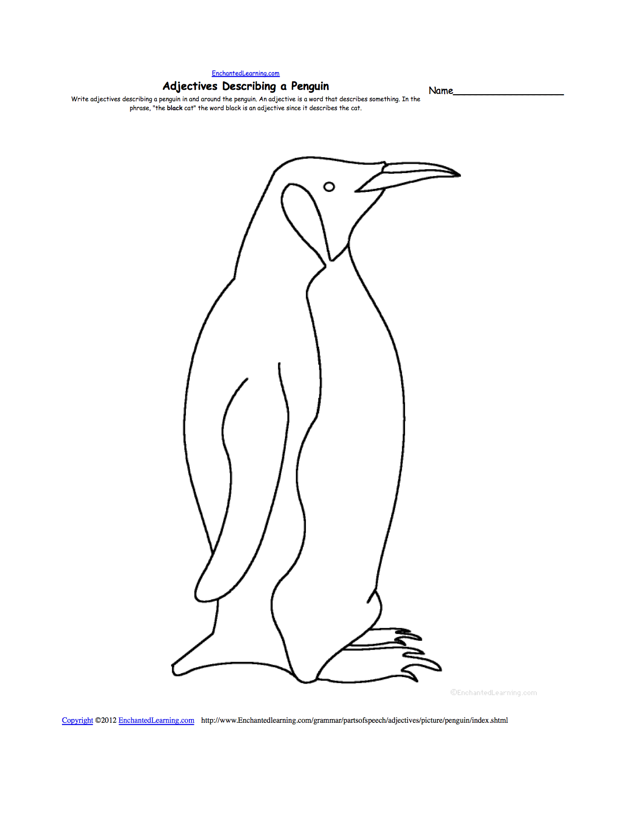 emperor penguin template dala horse pattern use the printable outline for crafts template penguin emperor