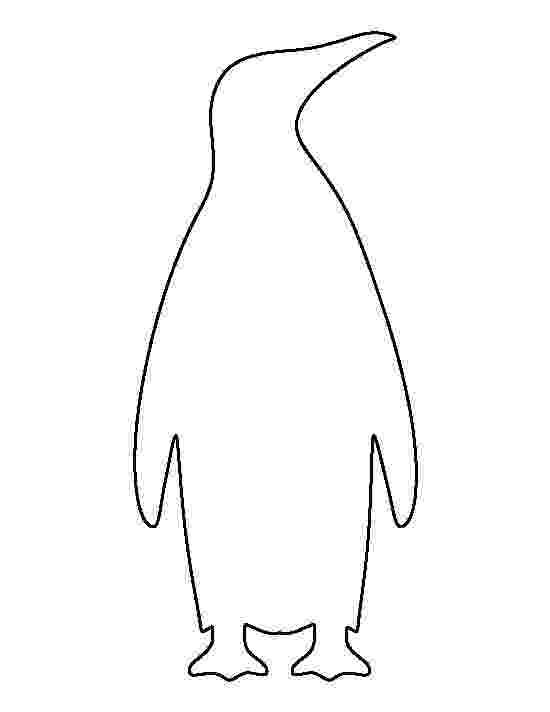 emperor penguin template printable emperor penguin template penguin emperor template