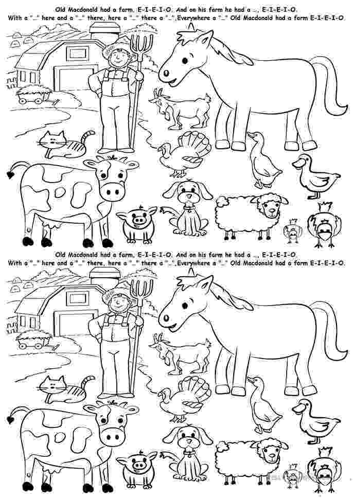 esl colouring pages animals colouring farm animals worksheet free esl printable colouring animals pages esl
