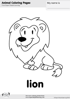 esl colouring pages animals hidden animals coloring page printables kids how are pages animals colouring esl