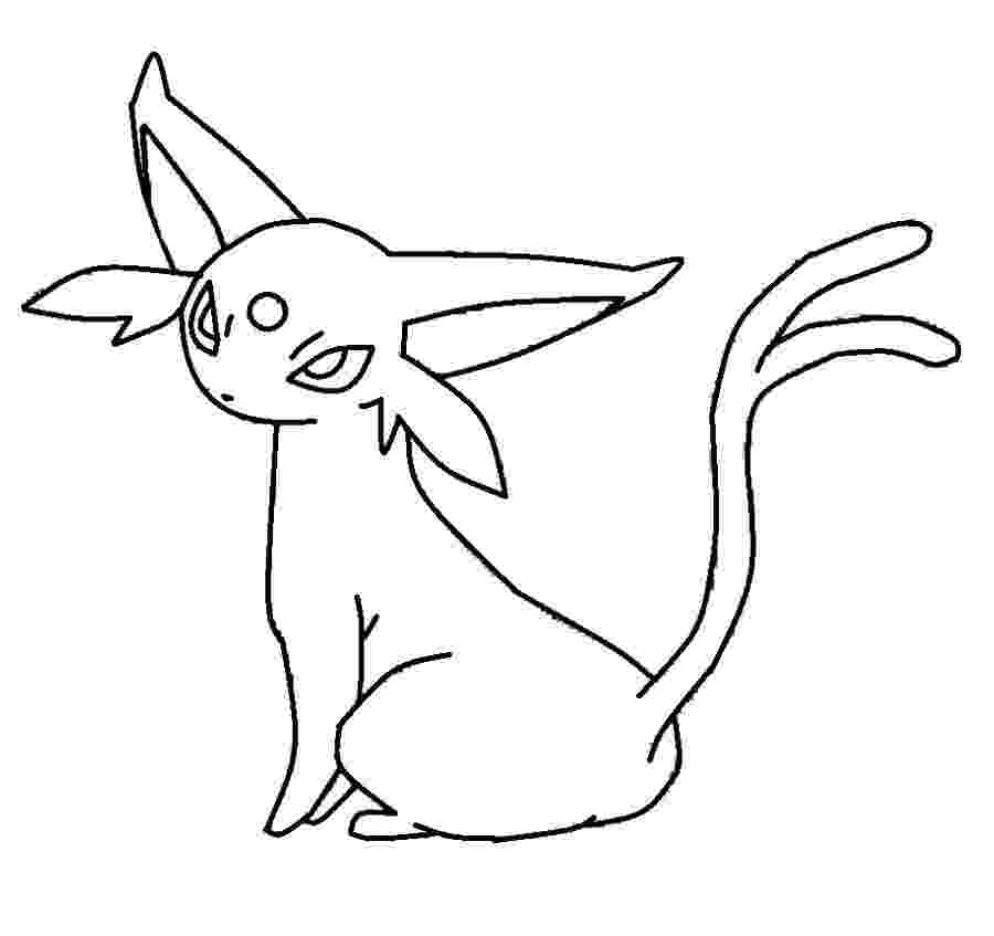 espeon coloring pages coloring pages pokemon espeon drawings pokemon coloring espeon pages