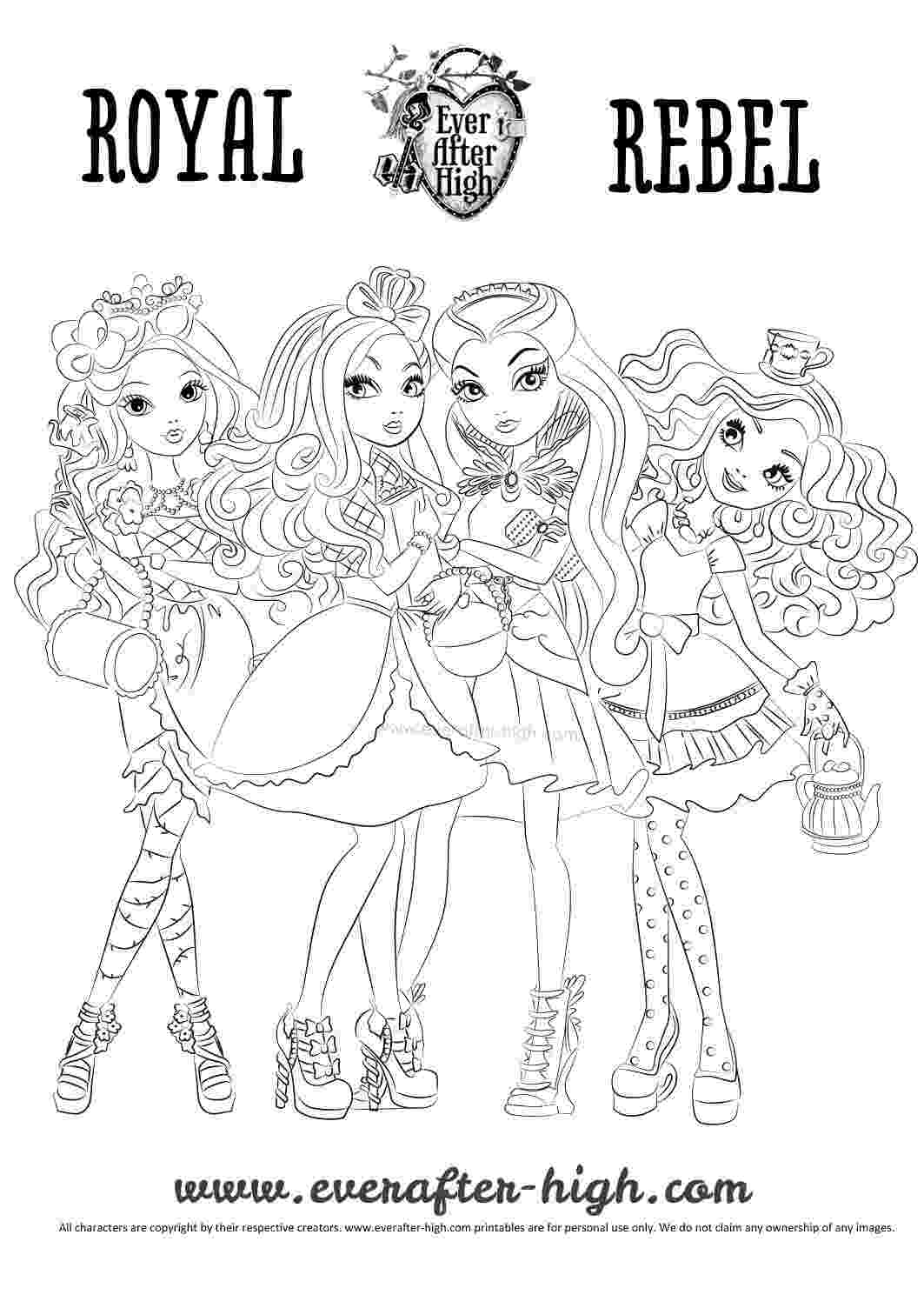 ever after high coloring sheets ever after high ca cupid thronecoming coloring page ever sheets high after coloring