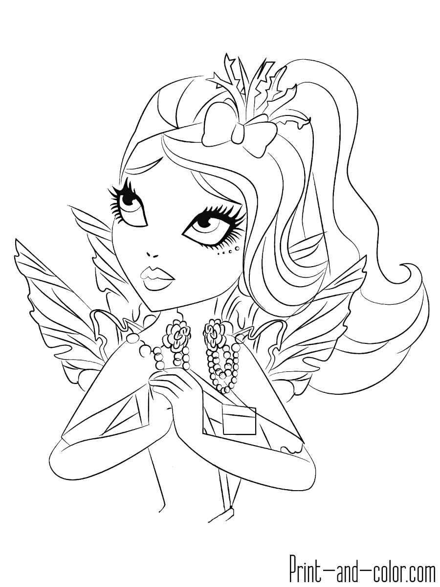 ever after high coloring sheets ever after high lovely raven queen coloring pages sheets coloring ever after high