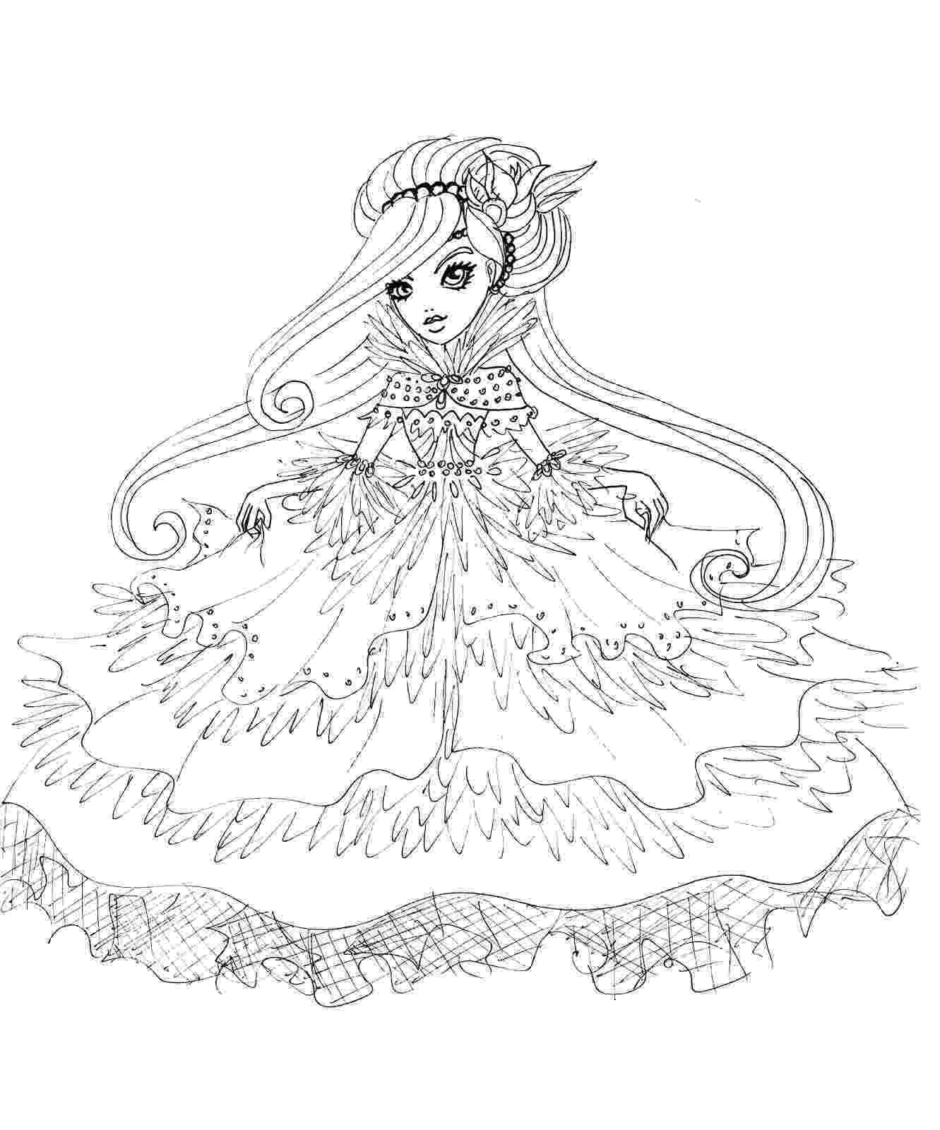 ever after high printables ever after high coloring pages to download and print for free after ever high printables