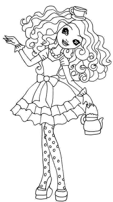 ever after high printables ever after high raven madeline briar and apple coloring high after printables ever
