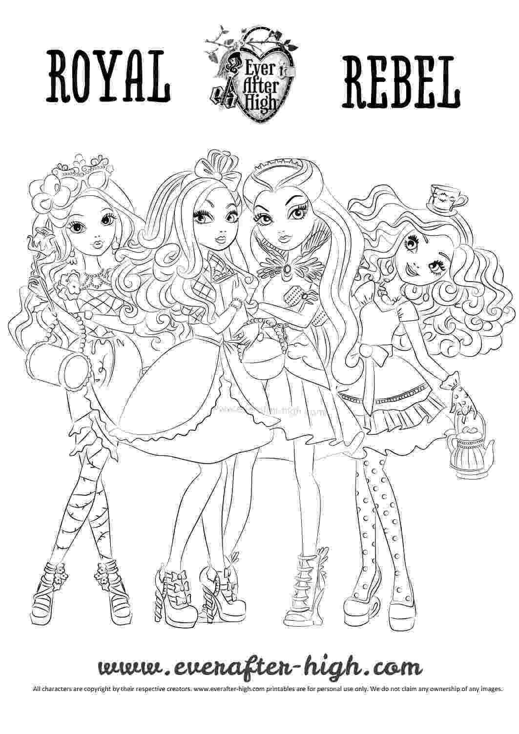 ever after high printables top 10 ever after high coloring pages high printables after ever