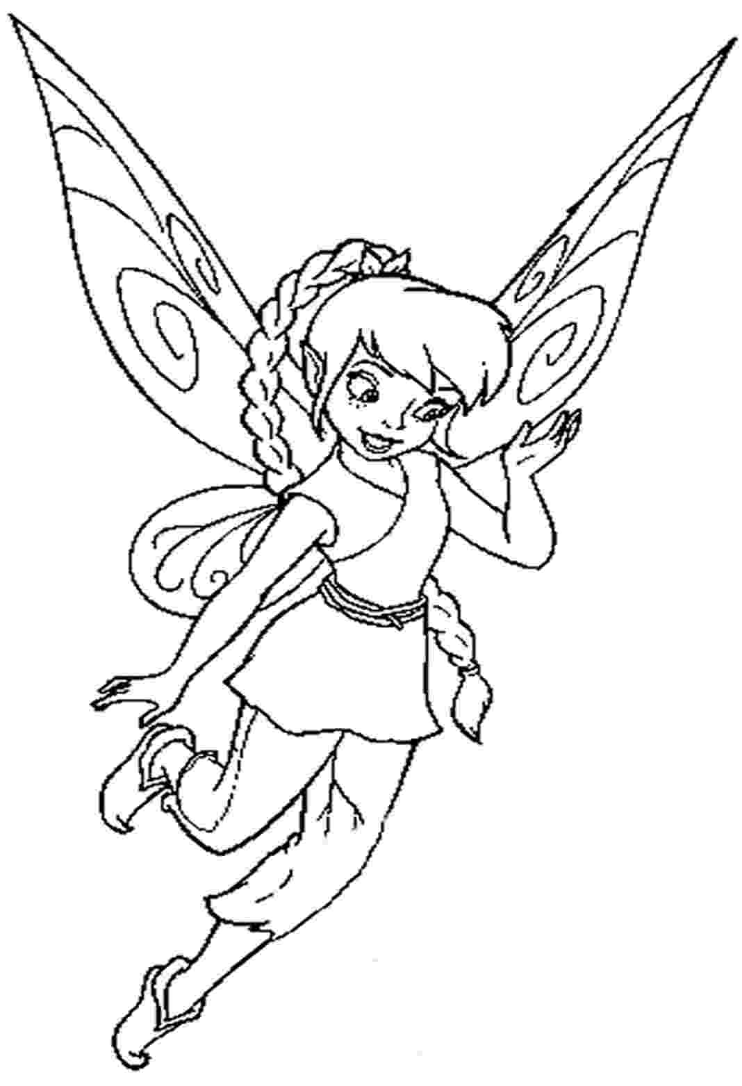 fairy color pages disney fairy coloring pages pages fairy color