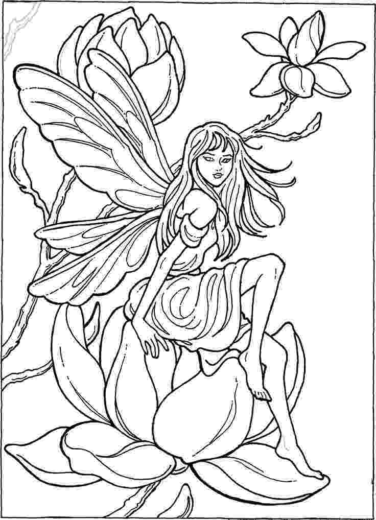 fairy color pages enchanted designs fairy mermaid blog free fairy pages color fairy