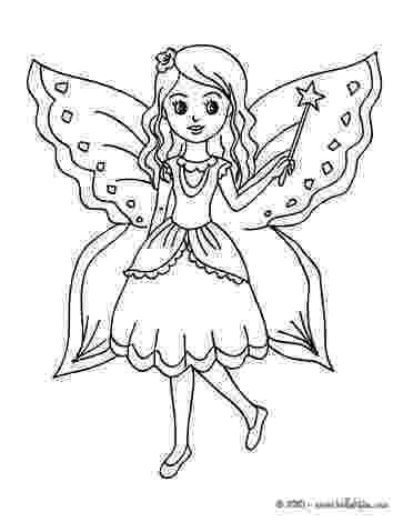 fairy pictures to color fairy with butterfly coloring pages hellokidscom color fairy to pictures