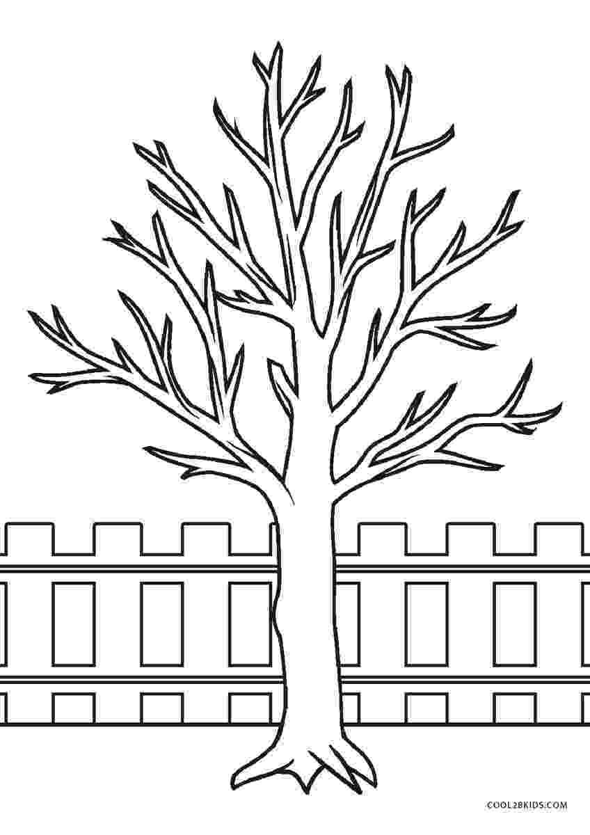 fall tree coloring sheet free printable tree coloring pages for kids cool2bkids sheet fall tree coloring