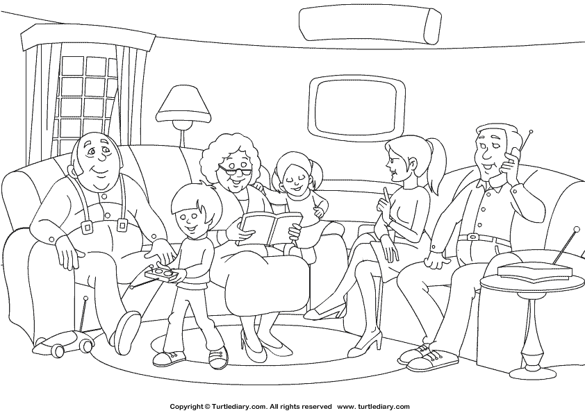 family coloring pages coloring pages of family coloring home coloring family pages