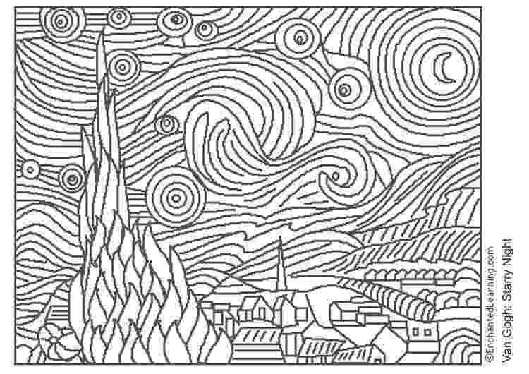 famous painting coloring pages david hockney coloring famous paintings pinterest famous pages painting coloring