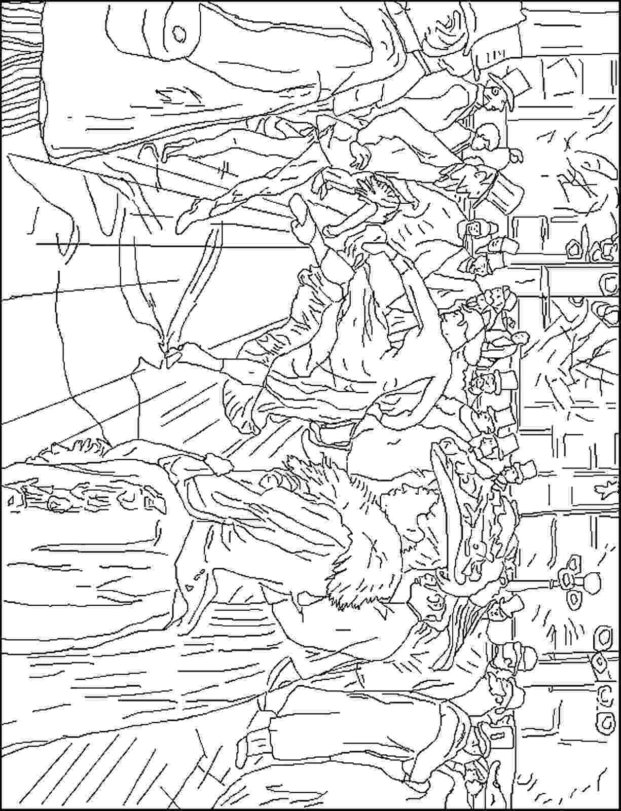 famous painting coloring pages famous painters and paintings coloring pages coloring famous pages painting 1 1
