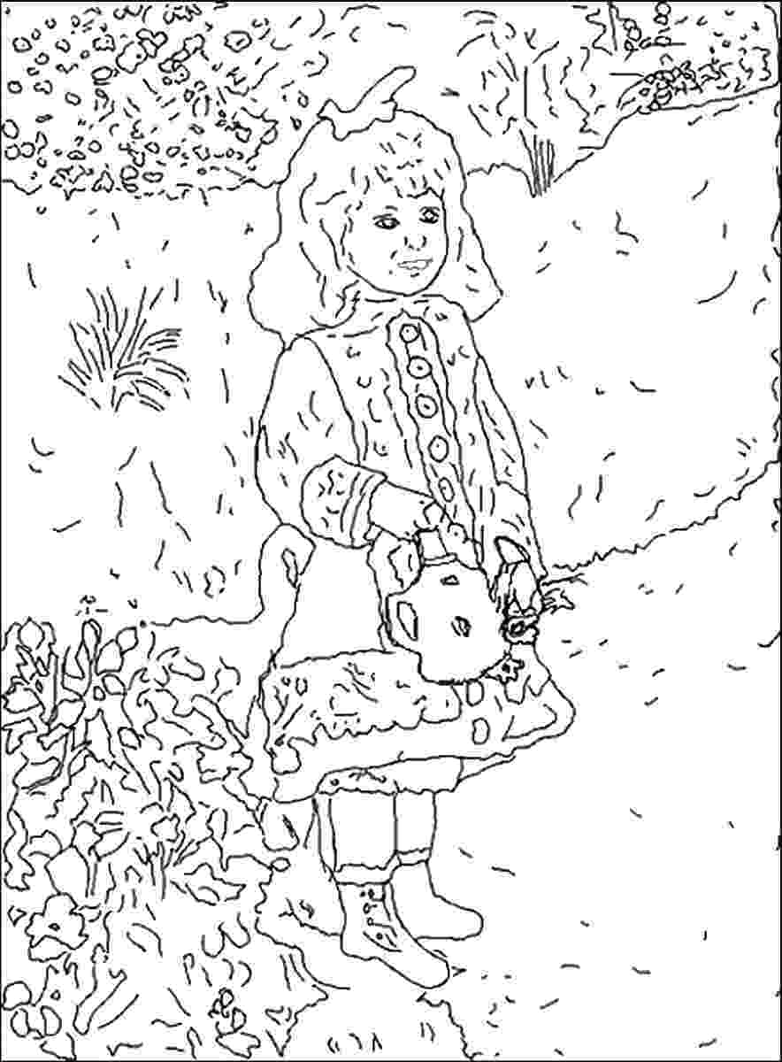 famous painting coloring pages famous painting coloring pages coloring famous painting pages