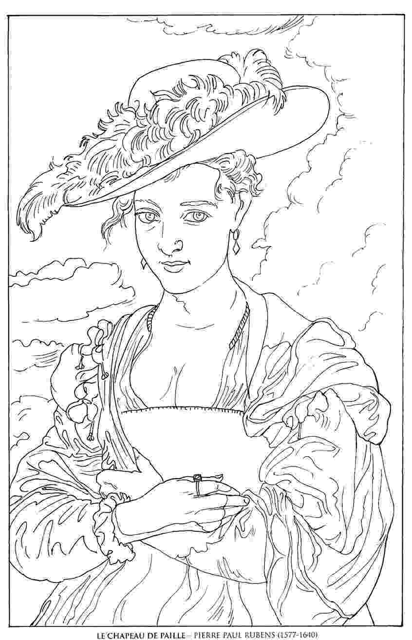 famous painting coloring pages site with lots of coloring pages including famous art pages painting coloring famous