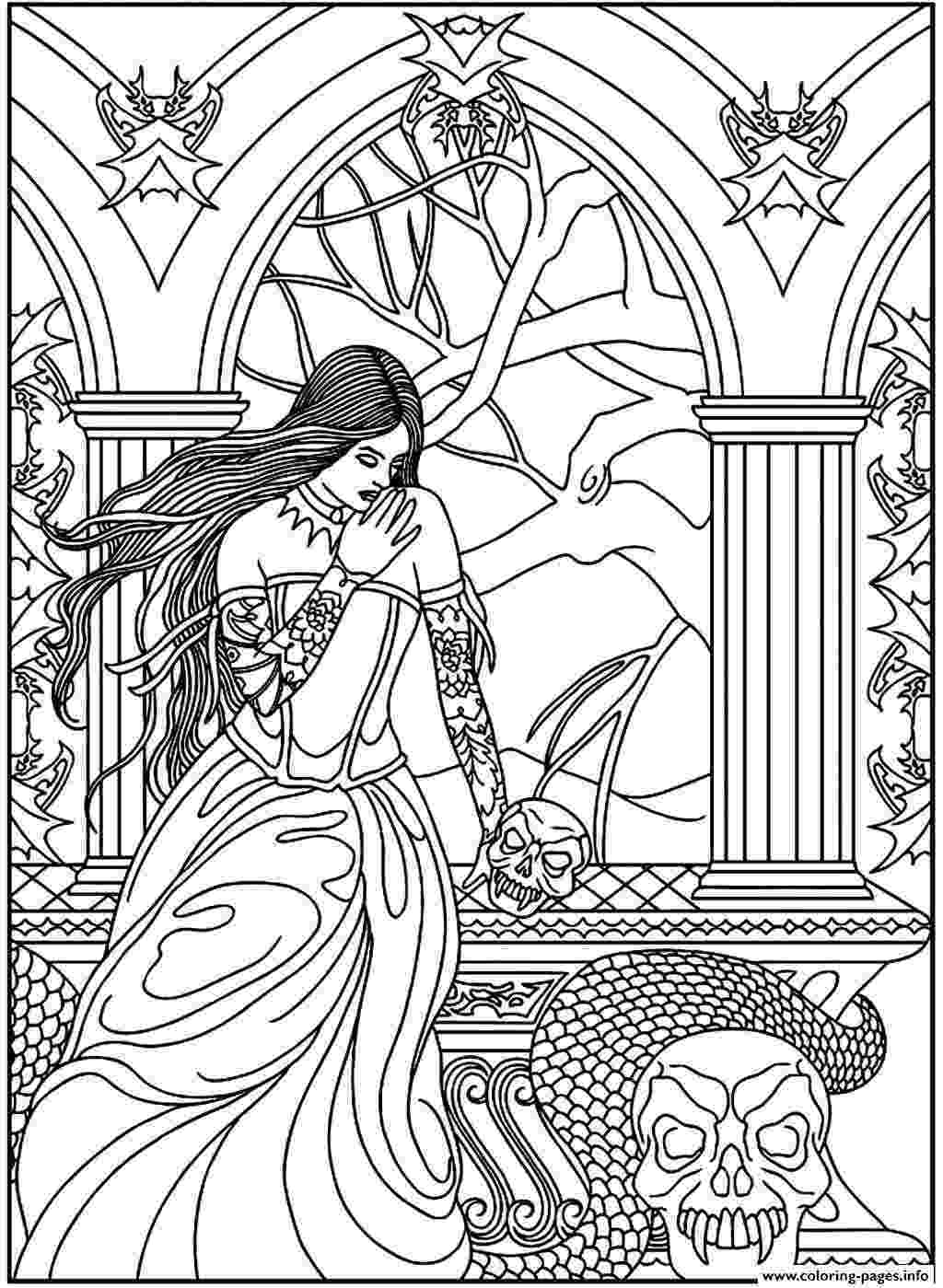 fantasy coloring pictures fantasy pages for adult coloring coloring page forest fantasy coloring pictures