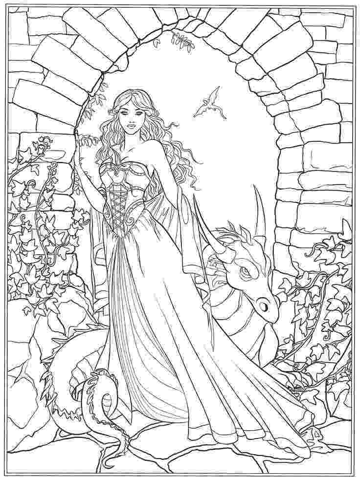 fantasy coloring pictures free printable fantasy coloring pages for kids best pictures fantasy coloring 1 1