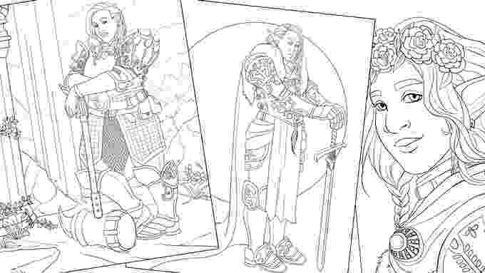 fantasy coloring pictures guardian a fantasy coloring book of women in armor by pictures coloring fantasy