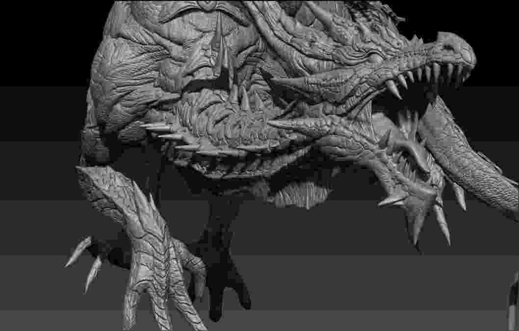fantasy creatures daren horley monster concept art creature concept art creatures fantasy