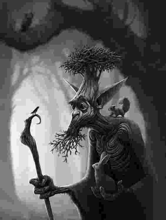 fantasy creatures dark forest creature sketch by alejandro mirabal on creatures fantasy