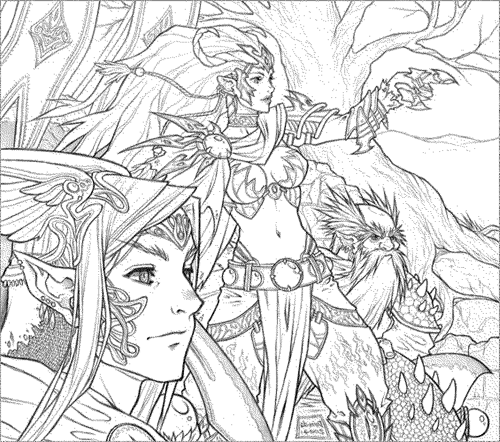 fantasy pictures to colour free printable fantasy coloring pages for kids best colour fantasy pictures to
