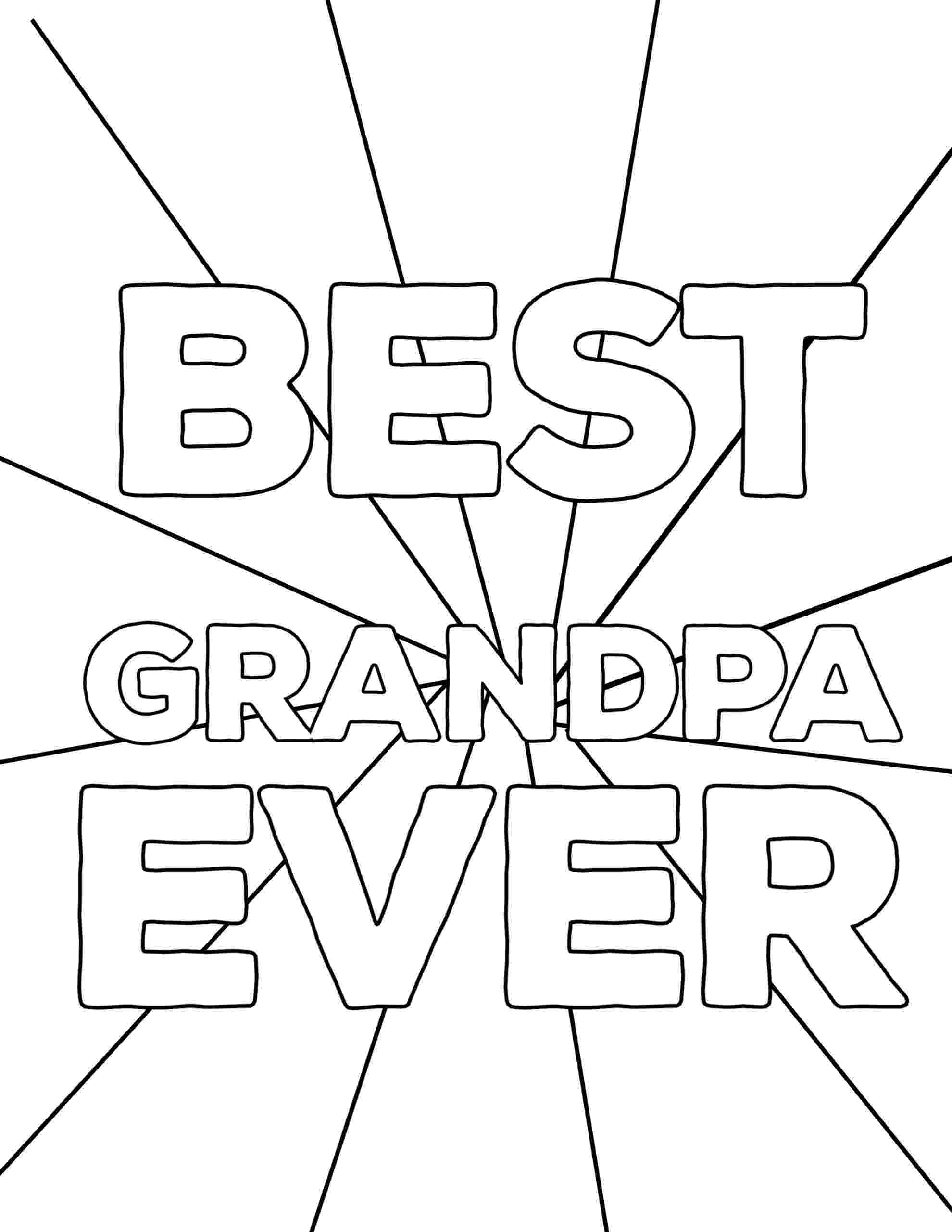 fathers day coloring pages for grandpa 20 best images about grandparent39s day on pinterest love day coloring grandpa fathers pages for