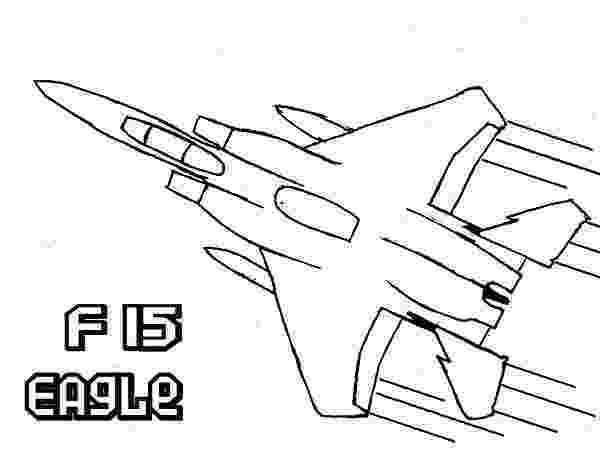 fighter jet colouring pages airplane f15 eagle super jet fighter coloring page colouring jet pages fighter