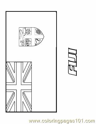 fiji flag coloring page fiji coloring page free flags coloring pages flag fiji page coloring