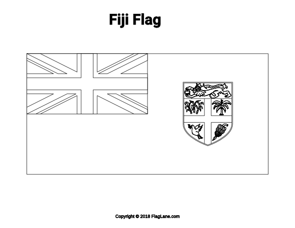 fiji flag coloring page free country flag coloring pages page 3 fiji coloring page flag