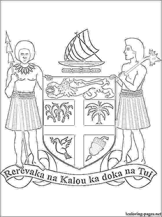 fiji flag coloring page printable image free fijian flag google search girl page coloring fiji flag