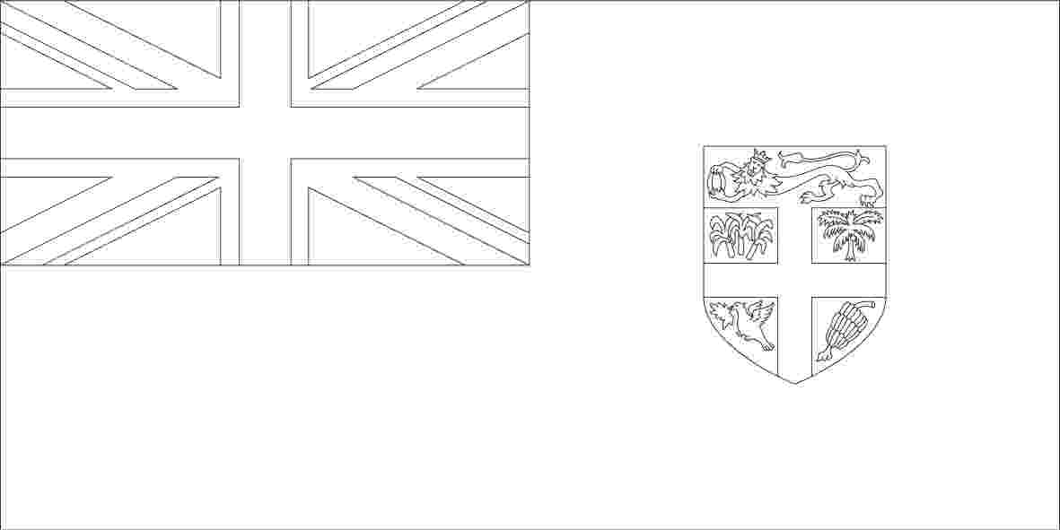 fiji flag coloring page the world window and coloring on pinterest coloring fiji flag page